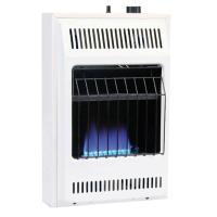 Williams 10,000 BTU Blue Flame Vent-Free Natural Gas Wall ...