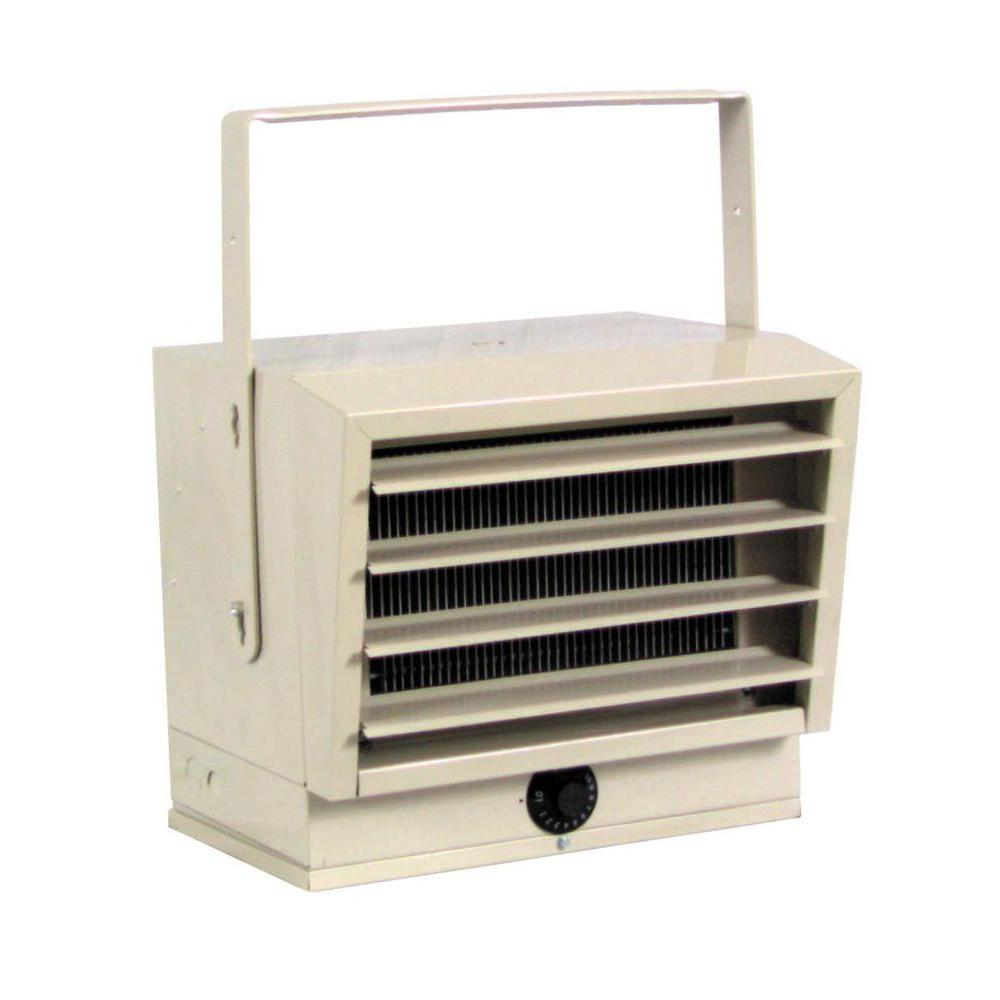 Garage Heater With Wall Thermostat Fahrenheat 5 000 Watt Unit Heater