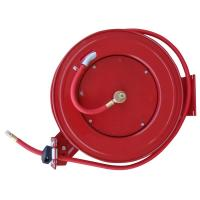 BLACK BULL 50 ft. Retractable Air Hose Reel with Auto ...