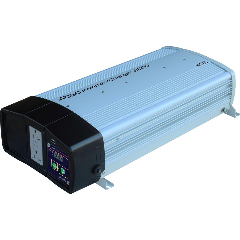 1000 Watt Pure Sine Wave Inverter Kisae Abso 2 000 Watt Sine Wave Inverter With 55 Amp Battery Charger