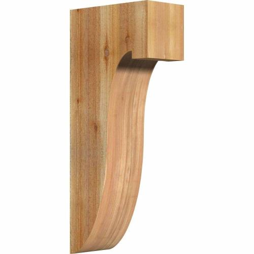 Medium Of Rough Sawn Cedar