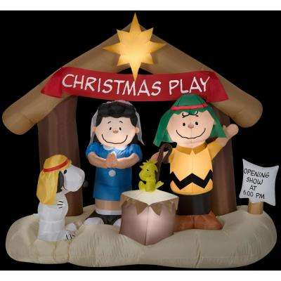 Peanuts - Christmas Inflatables - Outdoor Christmas Decorations - peanuts outdoor christmas decorations