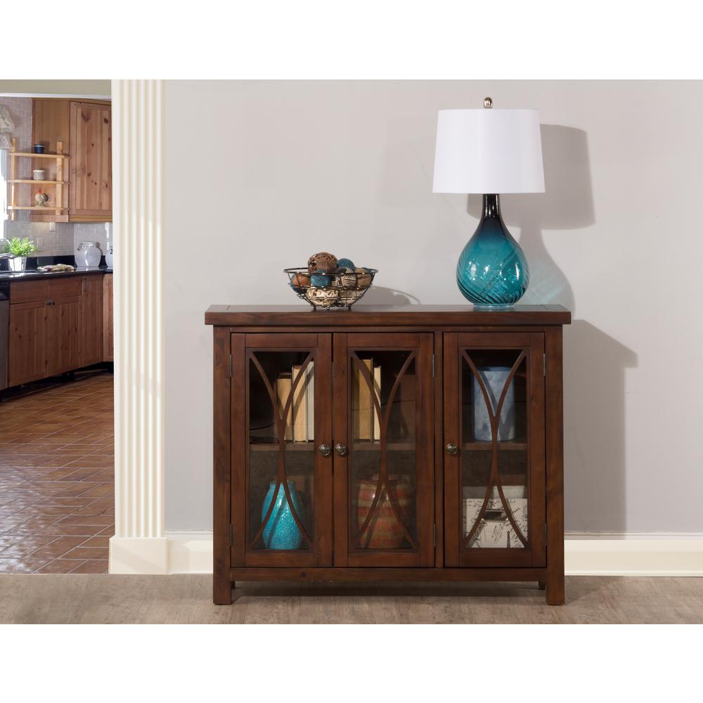 Images Of Rustic Mahogany Cabinets In Kitchens Hillsdale Furniture Bayside Rustic Mahogany 3 Door Cabinet