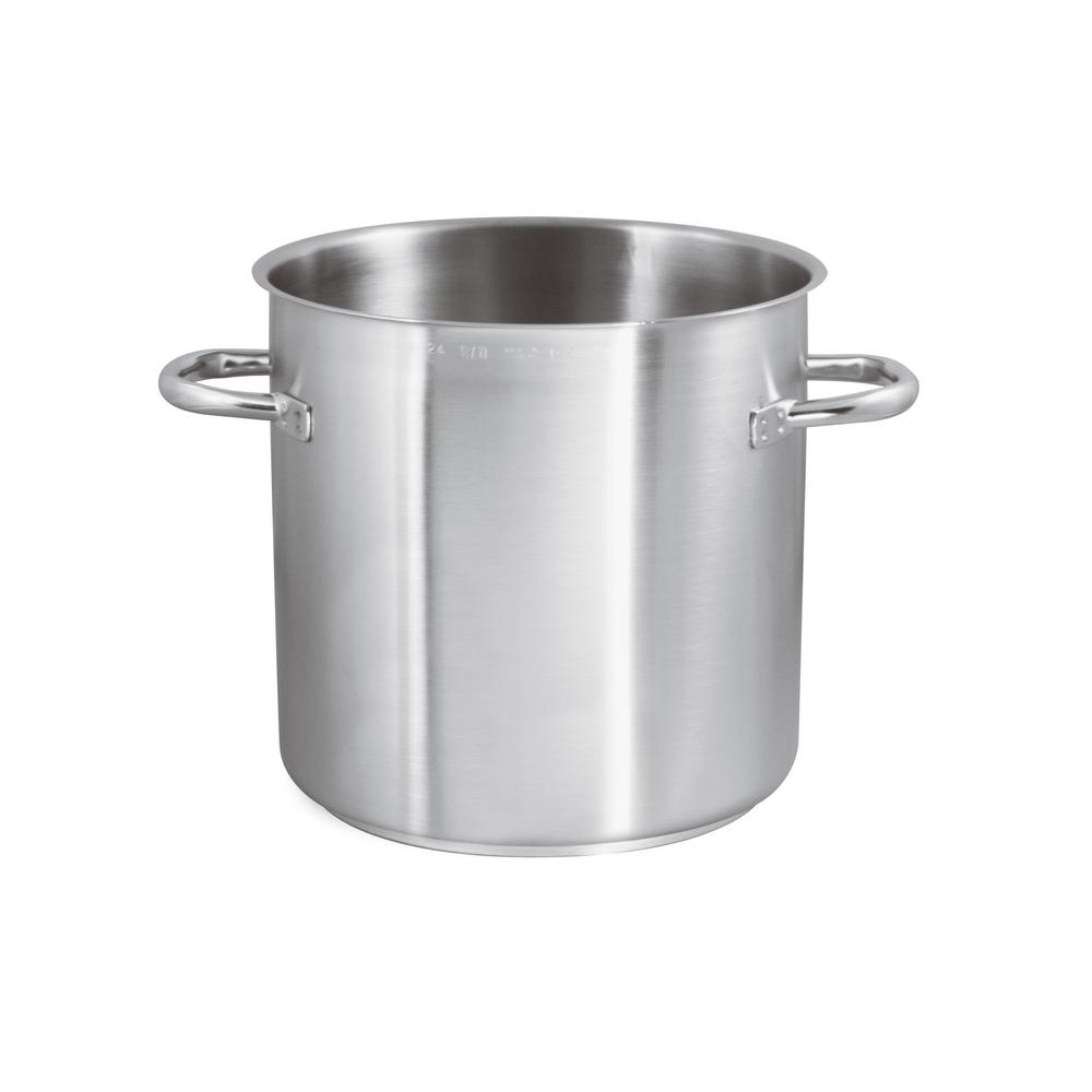 Cuisine Induction 9 1 2 Qt Induction Stainless Steel Stock Pot No Lid