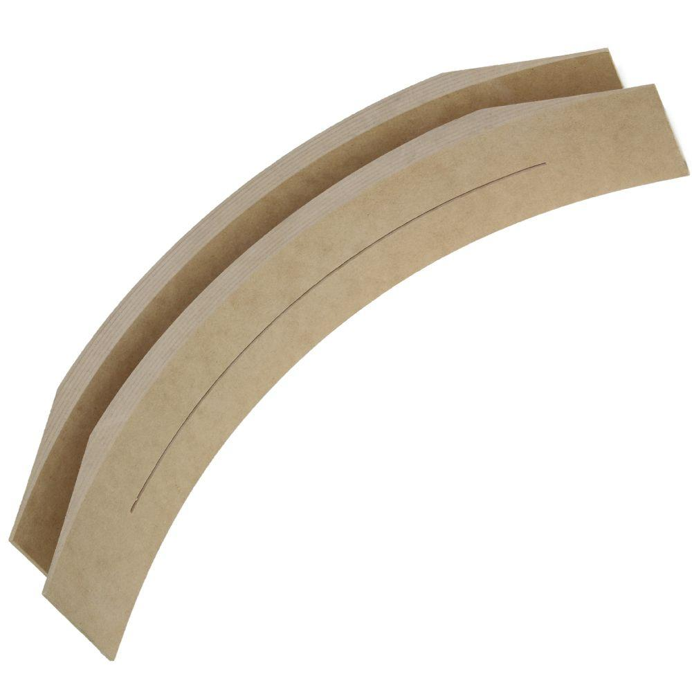 Arched Doorway Trim Kit 13 In. Prefabricated Framing Arch Kit-uak13 - The Home Depot