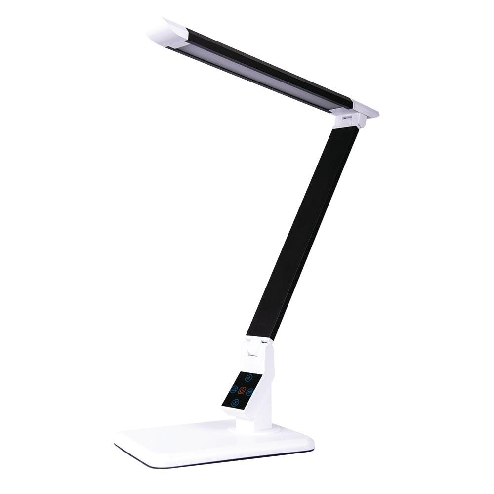 Led Verlichting Met Los Paneel 17 In Black Led Desk Lamp With Touch Panel For Power Dimming And Color Adjustment