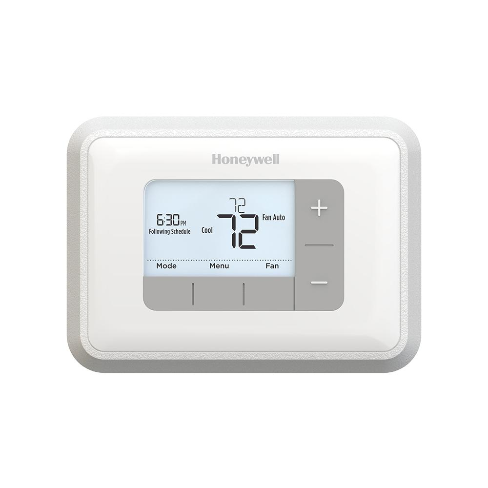 Honeywell Programmable Thermostat 5 2 Day Programmable 2h 2c Thermostat With Backlight