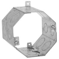 RACO 4 in. Octagon Welded Concrete Ring, 3-1/2 in. Deep ...