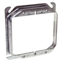RACO 4 in. Square 2-Device Mud Ring with 5/8 in. Raised ...