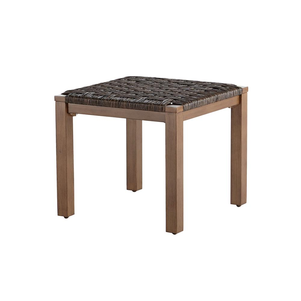 Depot Online Möbel Hampton Bay Kapolei Wicker Outdoor Side Table