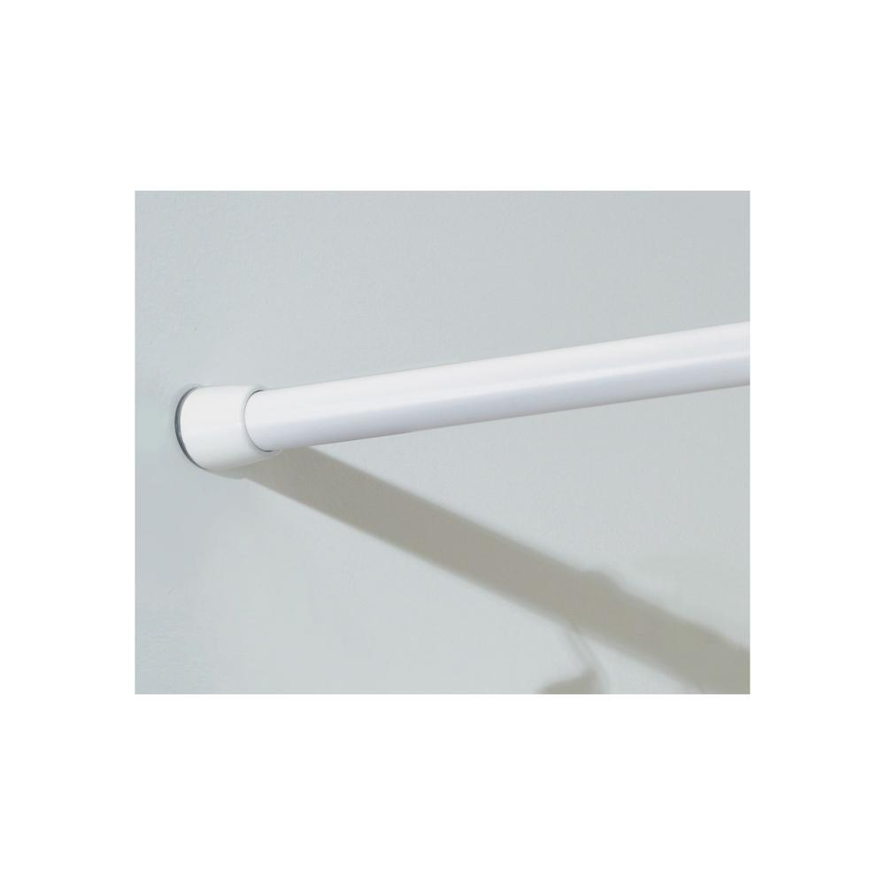Extendable Shower Curtain Rod Interdesign 43 75 In Shower Curtain Tension Rod Medium