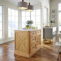 Home Styles Americana Black Kitchen Island With Storage ...