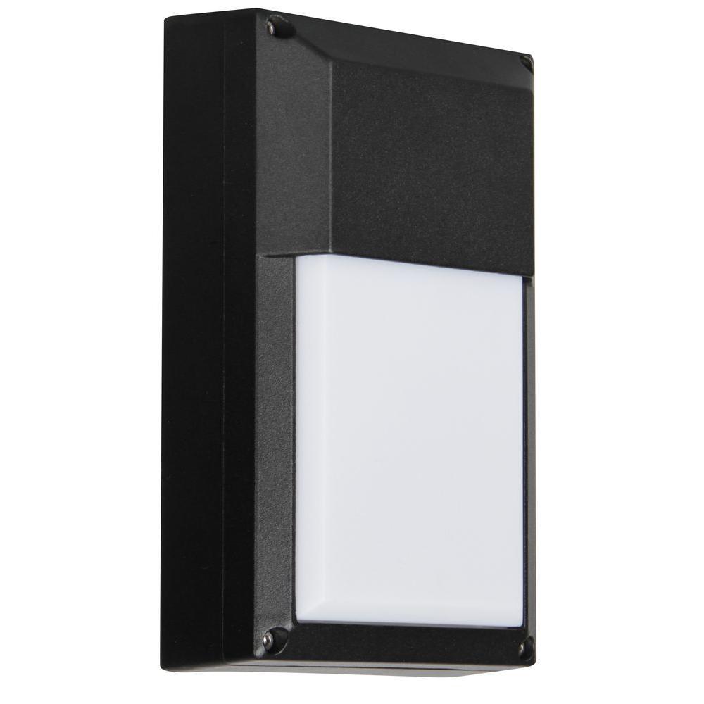 Luminance ADL Lumin Black Outdoor LED Wall Mount Fixture
