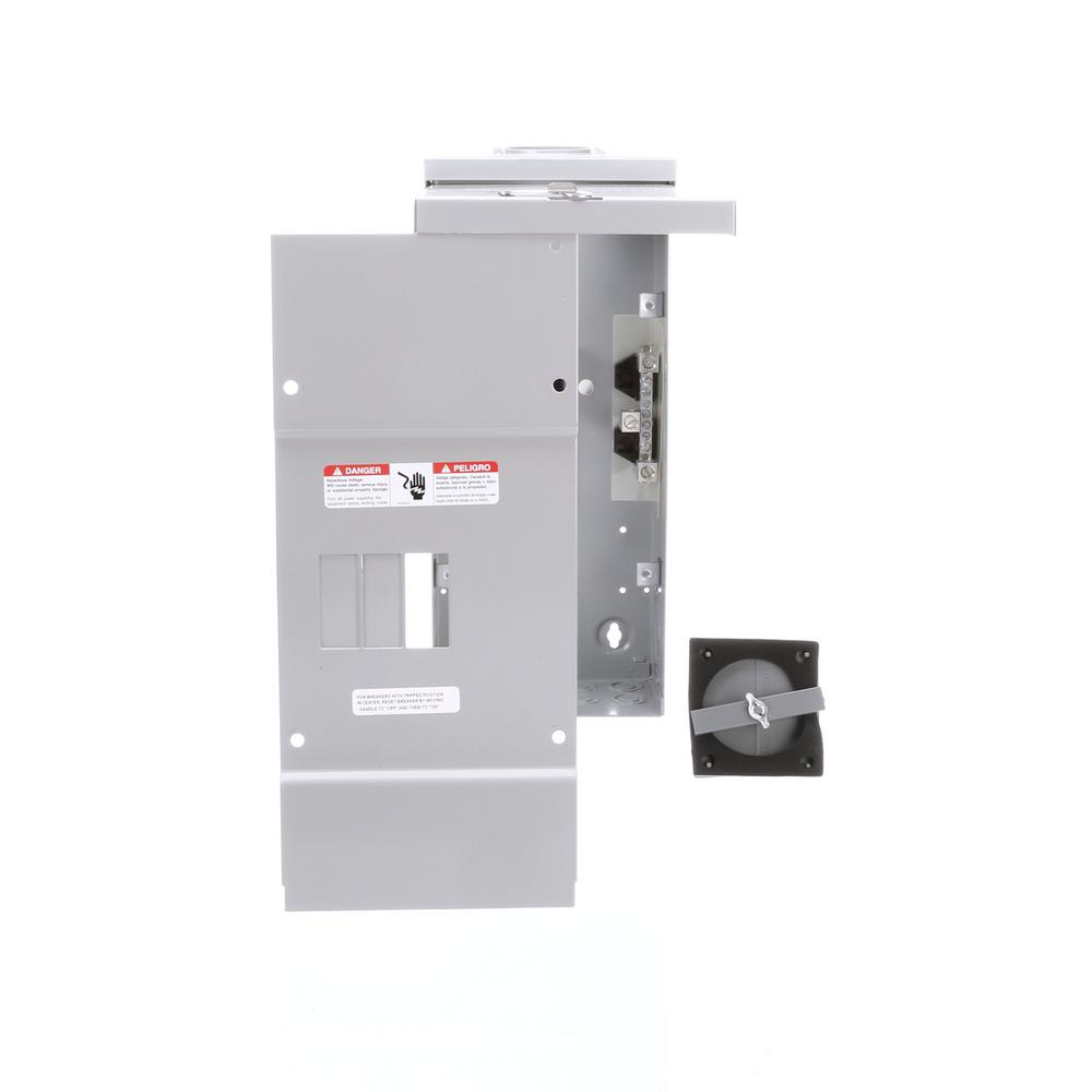Siemens Eq 3 Siemens 100 Amp 3 Space 3 Circuit 3 Phase Main Lug Breaker Outdoor Small Load Center Enclosures Type Eq