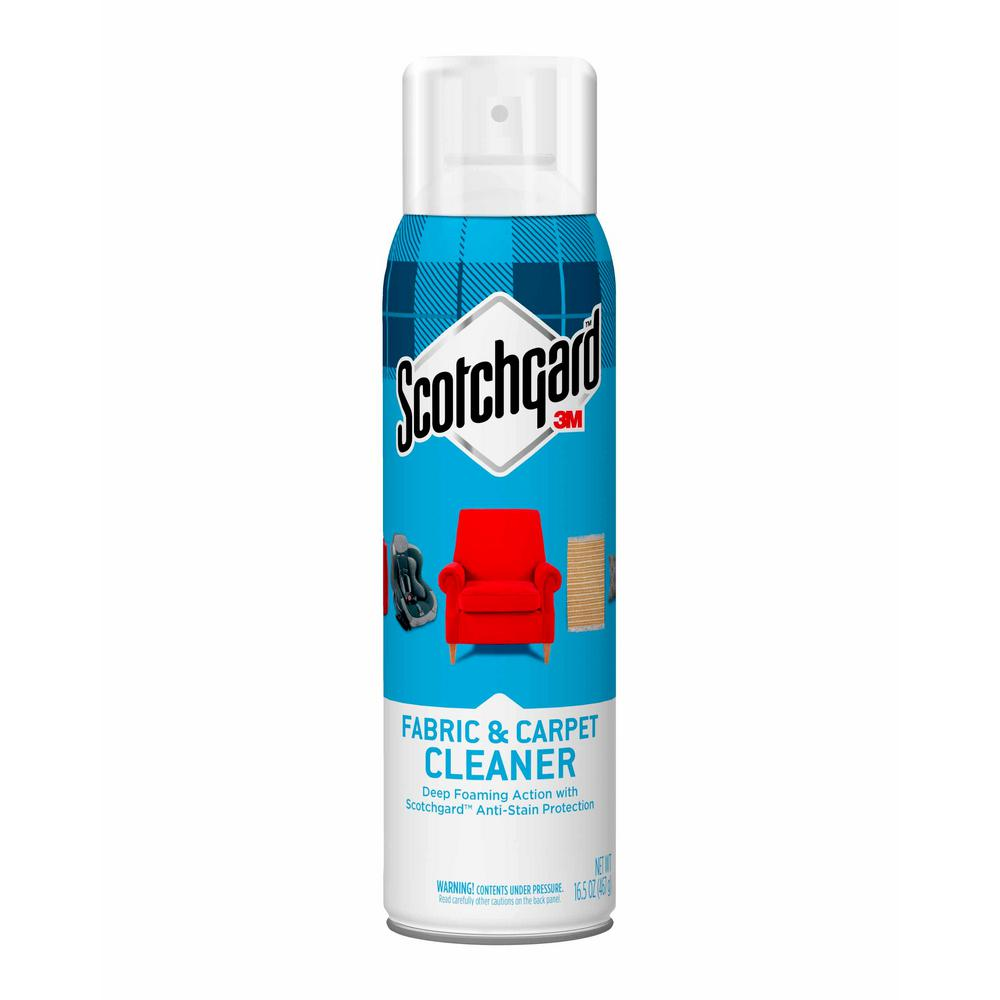 Sofa Foam Cleaner Scotchgard 16 5 Oz Fabric And Carpet Cleaner