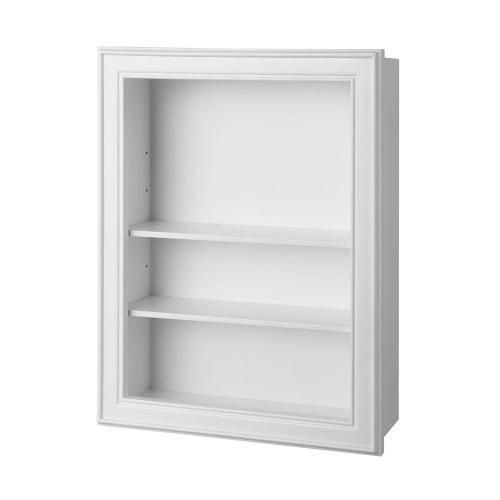 Medium Of White Shelf For Bathroom