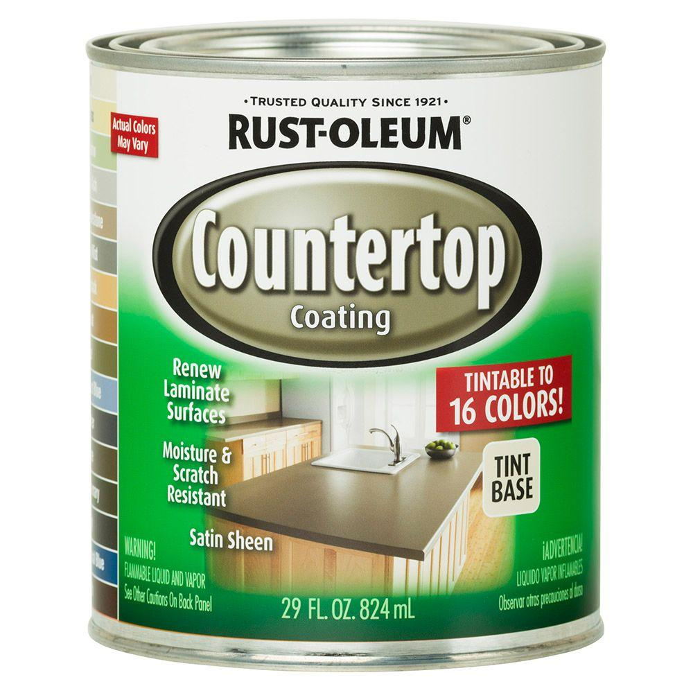 Rust Oleum Specialty 29 Oz Countertop Coating Tint Base 246068 The Home Depot