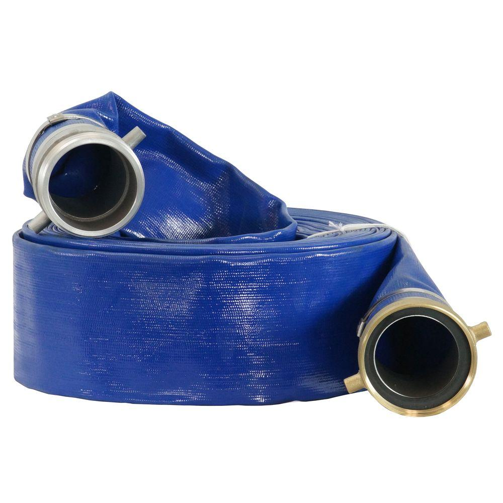 Pump Water Duromax 2 In X 50 Ft Water Pump Discharge Hose