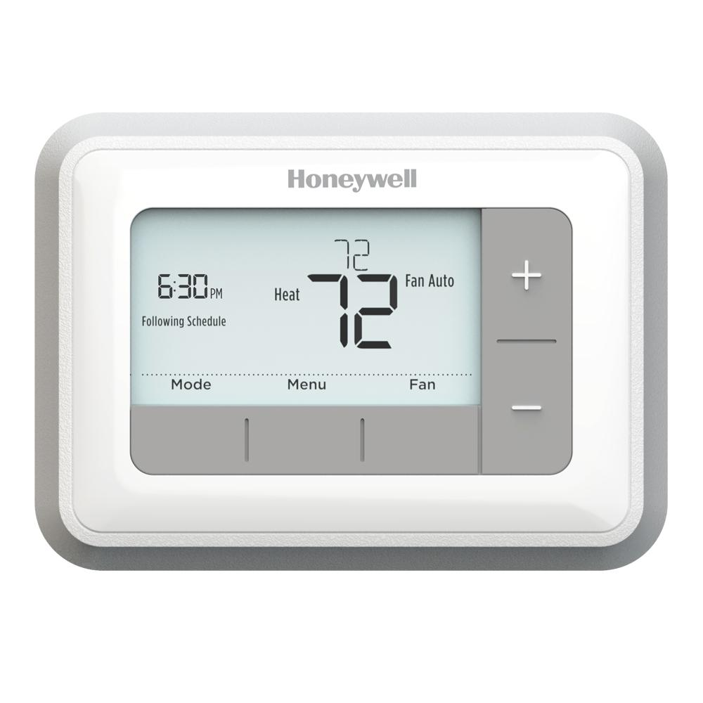 Honeywell Programmable Thermostat Honeywell T5 7 Day Programmable Thermostat
