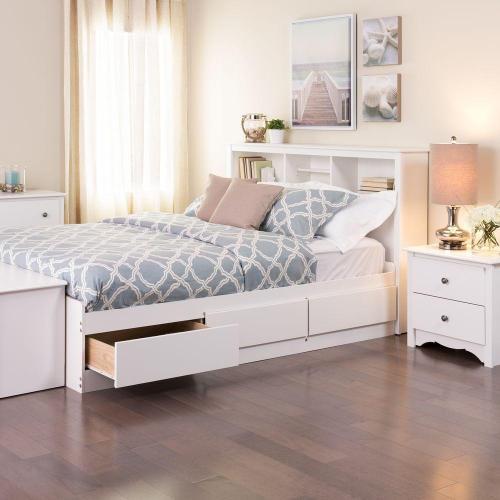 Medium Crop Of White Bed Frame