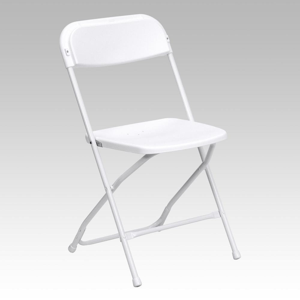 Chairs Folding Flash Furniture Hercules Series 800 Lb Capacity Premium White Plastic Folding Chair