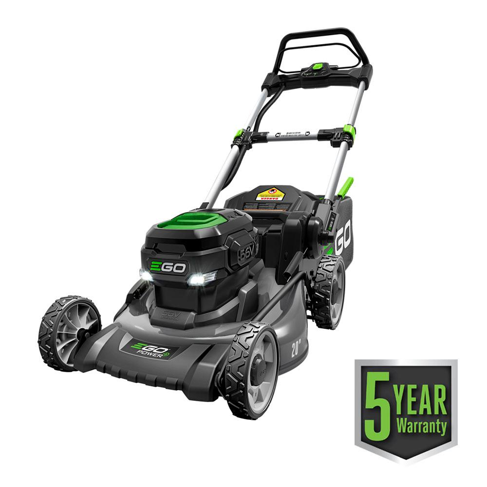 Mobile De24 Ego 20 In 56 Volt Lithium Ion Electric Brushless Walk Behind Steel Deck Push Mower 5 Ah Battery Charger Included