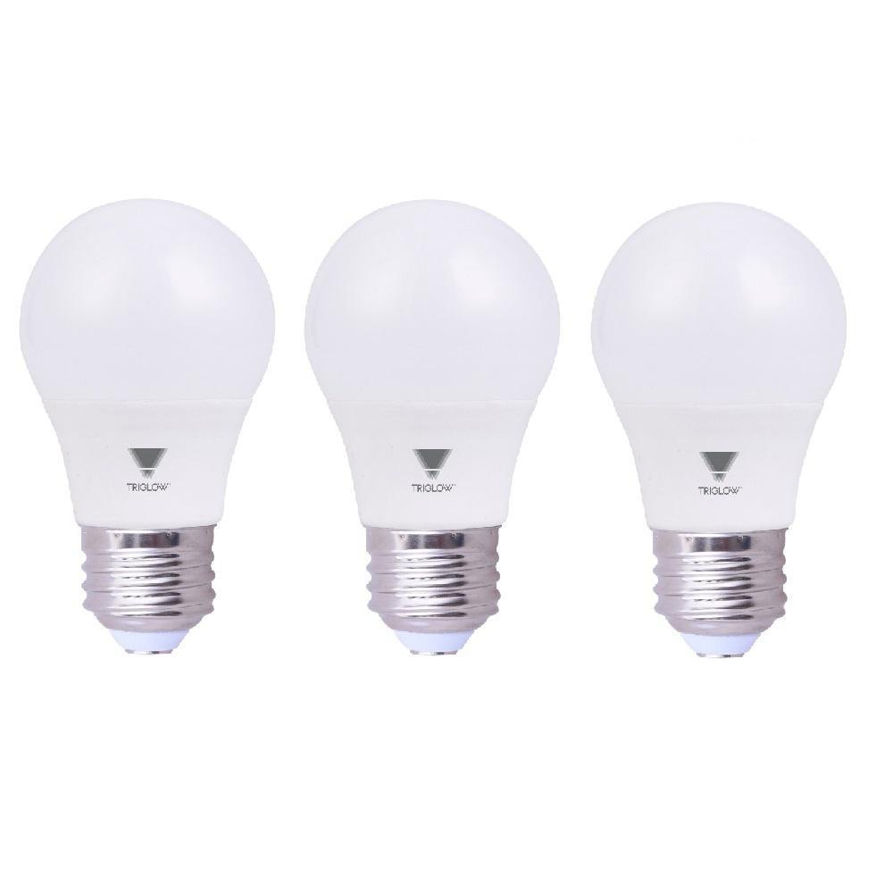 40 Watt In Lumen Triglow 6 5 Watt 40 Watt Equivalent A15 Led Appliance Light Bulb 600 Lumens Soft White 3000k 3 Pack