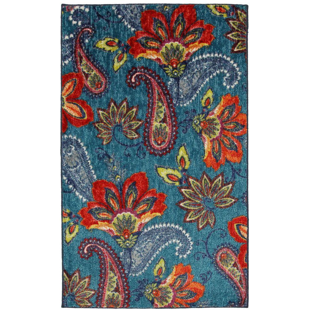 Mohawk Home Whinston Multi 5 Ft X 8 Ft Area Rug 369309 - Mohawk Rugs