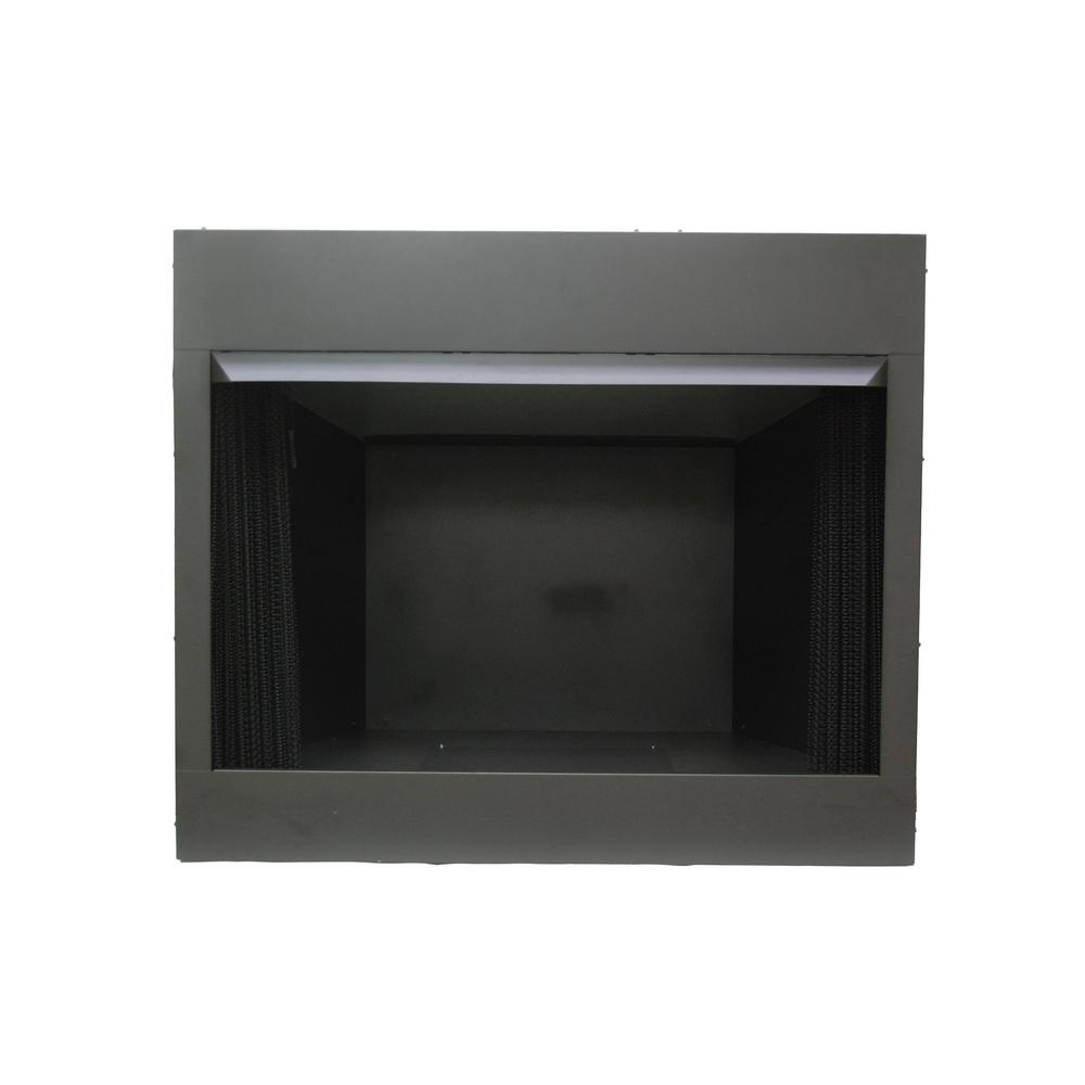 Free Fireplace Insert Emberglow 36 In Vent Free Dual Fuel Circulating Firebox Insert With Screen In Black