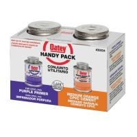 Oatey 4 oz. Purple Primer and CPVC Cement - Handy Pack ...