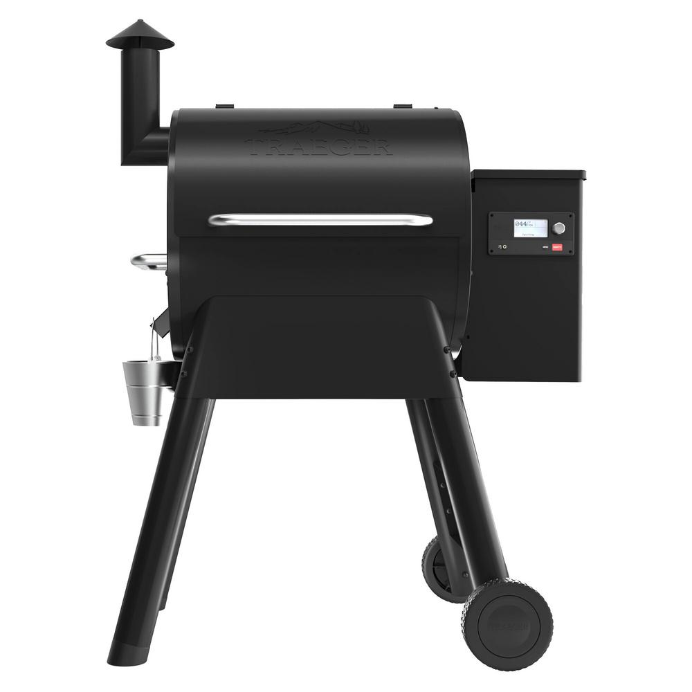 Weber Handleiding Traeger Pro 575 Wifi Pellet Grill And Smoker In Black