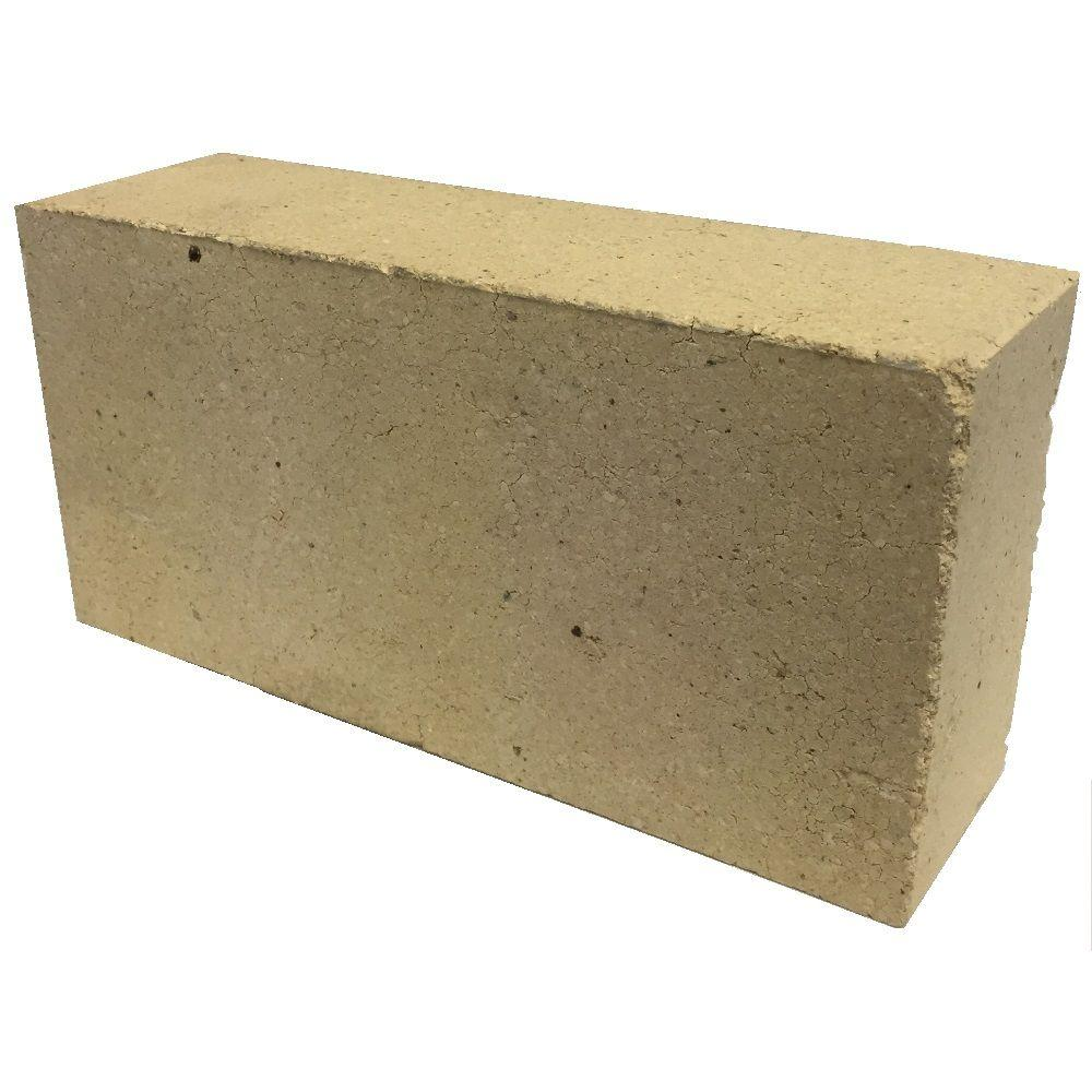 Refractory Brick 7 Lb 2 5 In X 4 5 In X 9 In Fire Clay Brick 23a The Home Depot