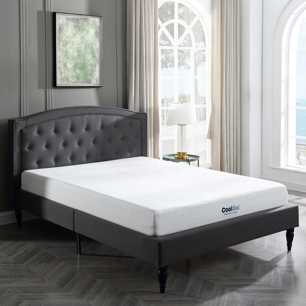 Beds Memory Foam Mattress Cool Gel Cool Gel Queen Size 8 In Gel Memory Foam Mattress
