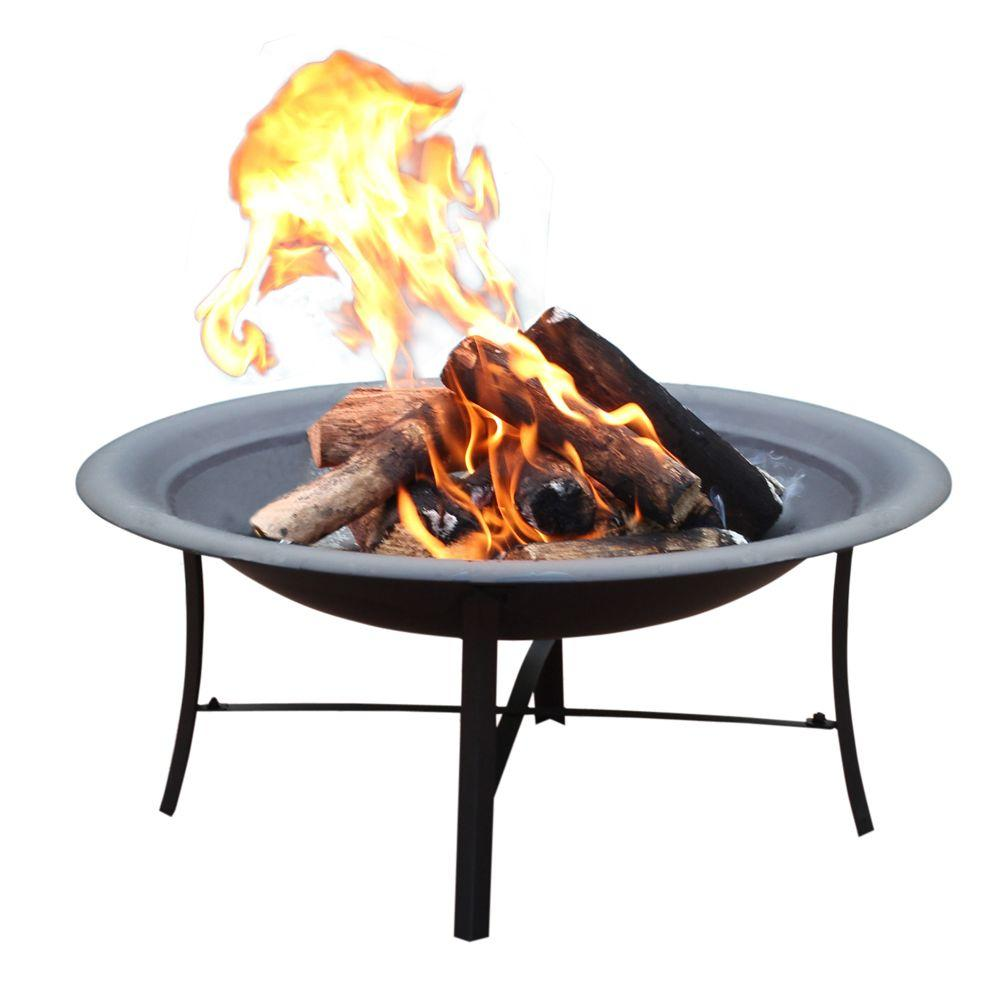 Home Depot Fire Pit Jeco 30 In Steel Fire Pit