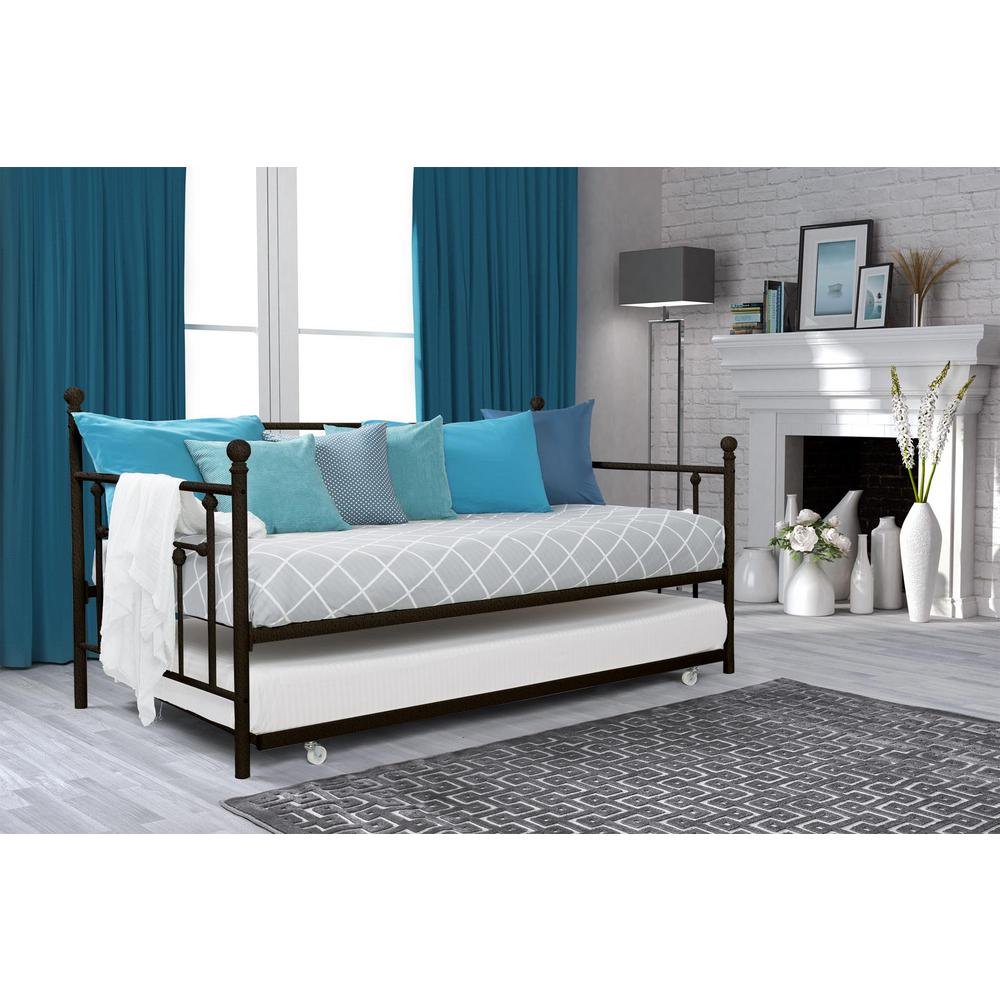 Extraordinary Dhp Manila Bronze Trundle Day Bed Dhp Manila Bronze Trundle Day Home Depot Trundle Daybed Full Walmart Daybed Trundle houzz-02 Trundle Day Bed