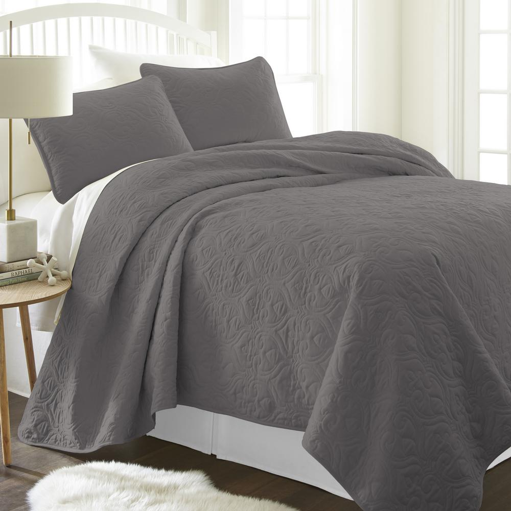 Bed Coverlet Quilts Bedspreads Bedding Bath The Home Depot