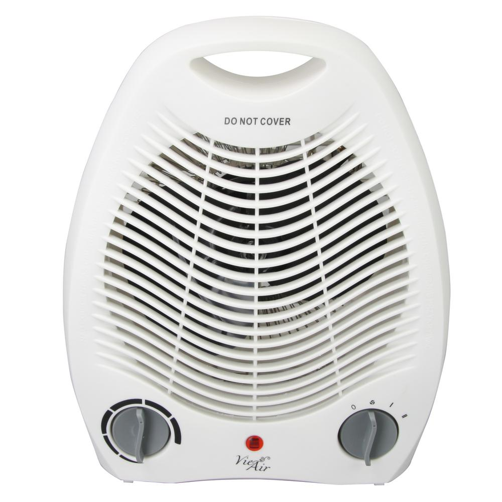 Home Depot Space Heater 1 500 Watt Electric Portable Fan Heater With Adjustable Thermostat