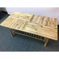 Natural Lacquer Finish Bamboo Coffee Table-BCT-28 - The ...