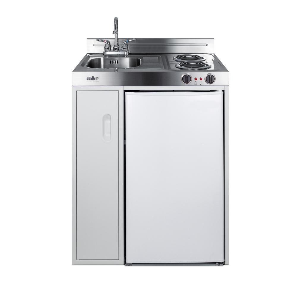 Home Depot Fridges Canada Summit Appliance 30 In Compact Kitchen In White