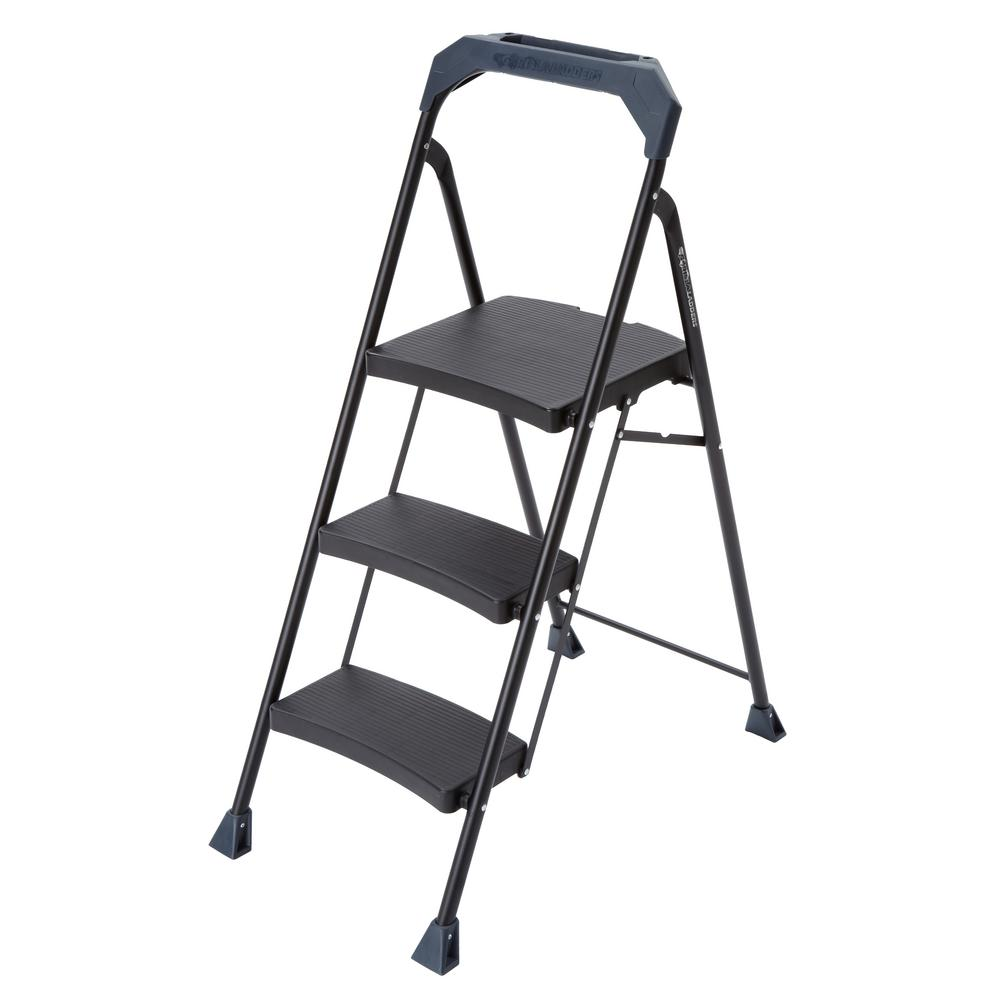 20' Ladder Home Depot Gorilla Ladders 3 Step Steel Step Stool With 250 Lb Load Capacity Type I Duty Rating
