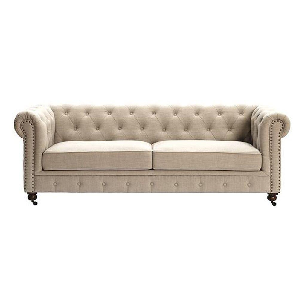 Sofa Entertainment Group Llc Home Decorators Collection Gordon Natural Linen Sofa