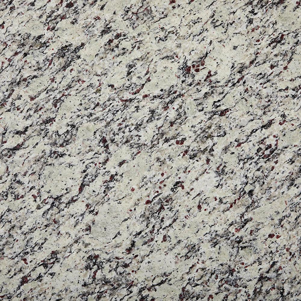 Stonemark 3 In X 3 In Granite Countertop Sample In White