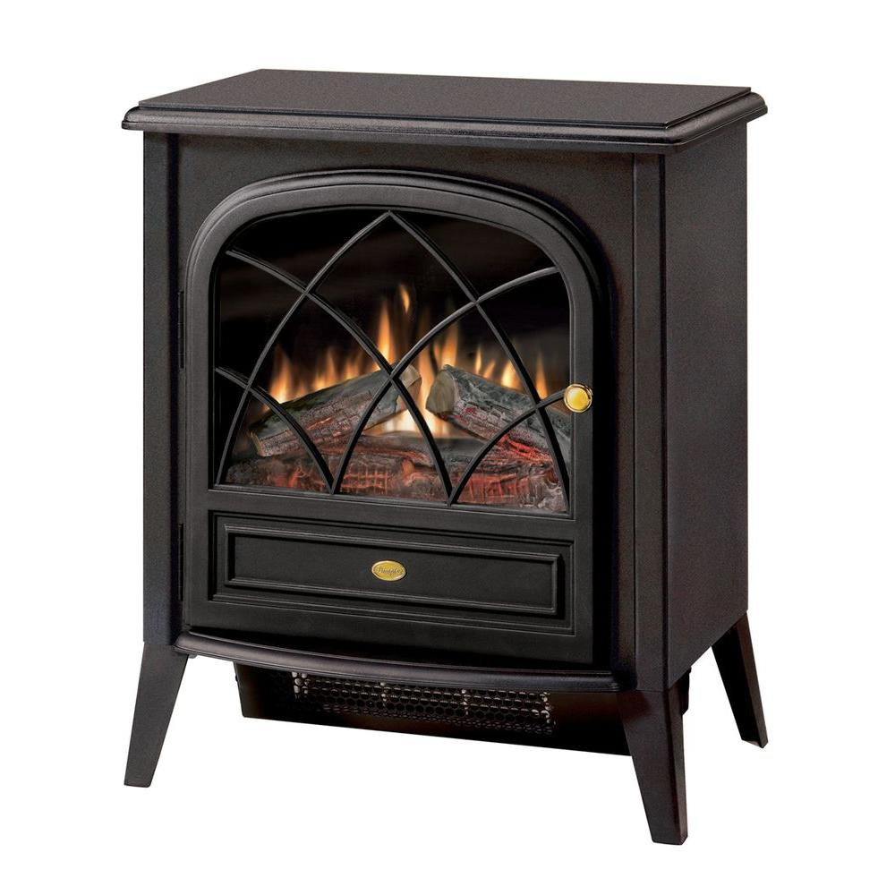 Best Electric Stove Fireplace Dimplex 400 Sq Ft 20 In Freestanding Compact Electric Stove In Matte Black