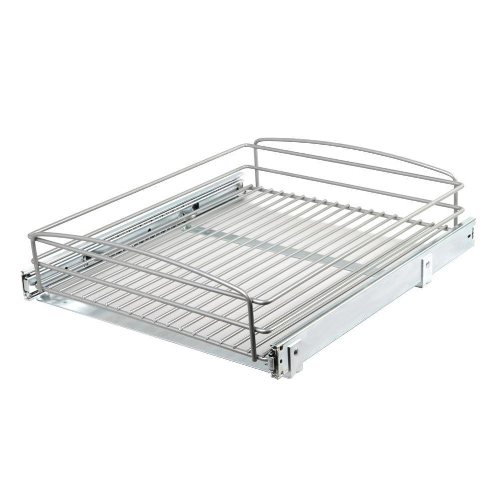 Pull Out Basket Cabinet Organizer Base Kitchen Storage
