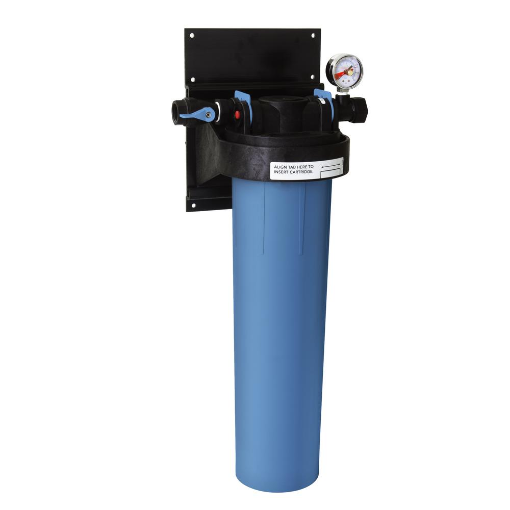 Carbon Water Filter System Selecto Superplus 20 In Single Canister Whole House Three Stage Advanced Carbon Technology Water Filtration System