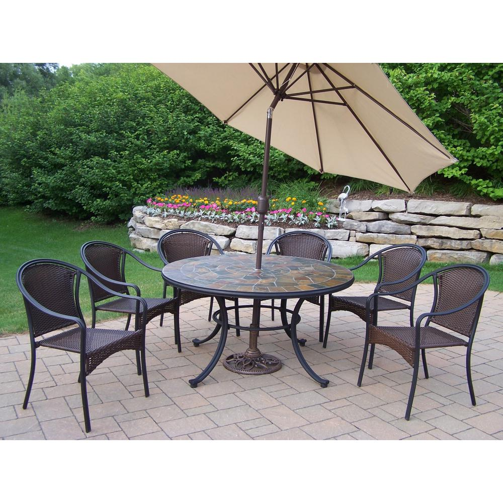 9 Piece Outdoor Dining Set 9 Piece Outdoor Dining Set
