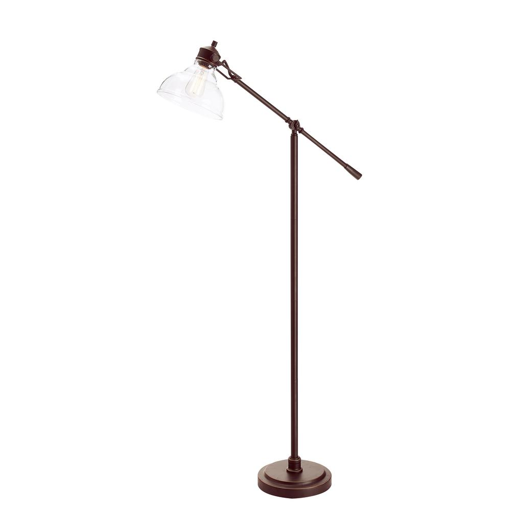 Fancy Standing Lamps Hampton Bay 54 5 In Oil Rubbed Bronze Counter Balance Floor Lamp