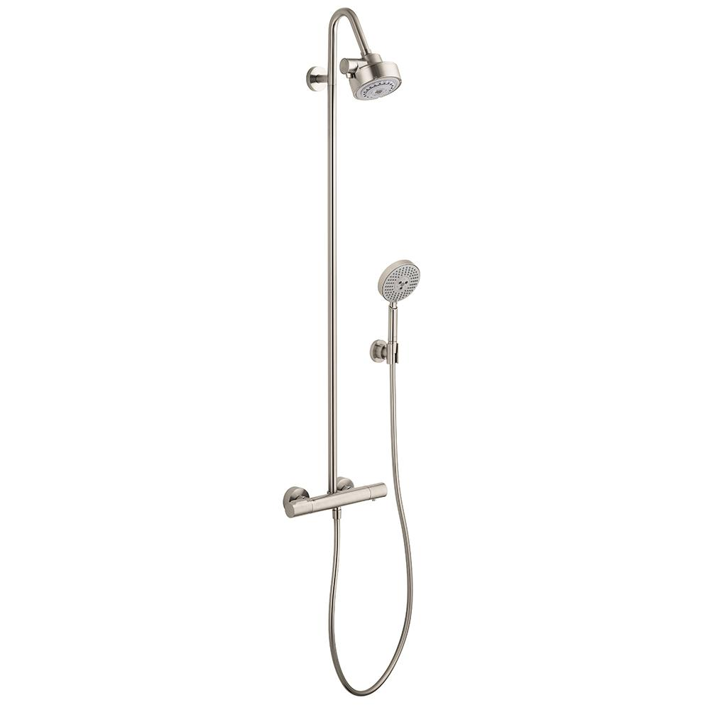 Hansgrohe Citterio M Hansgrohe Axor Citterio M Shower Pipe In Brushed Nickel