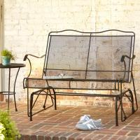 Hampton Bay Jackson Patio Loveseat Glider-7894000-0105157 ...