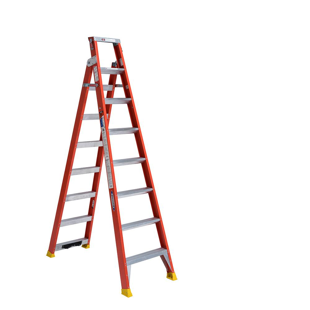 Werner Multiposition Ladder Multi Position Ft Aluminum Lb Werner 13 Ft. Reach Aluminum Telescoping Multi-position